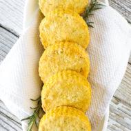 gluten free vegan rosemary pumpkin biscuits