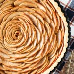 gluten free vegan apple tart