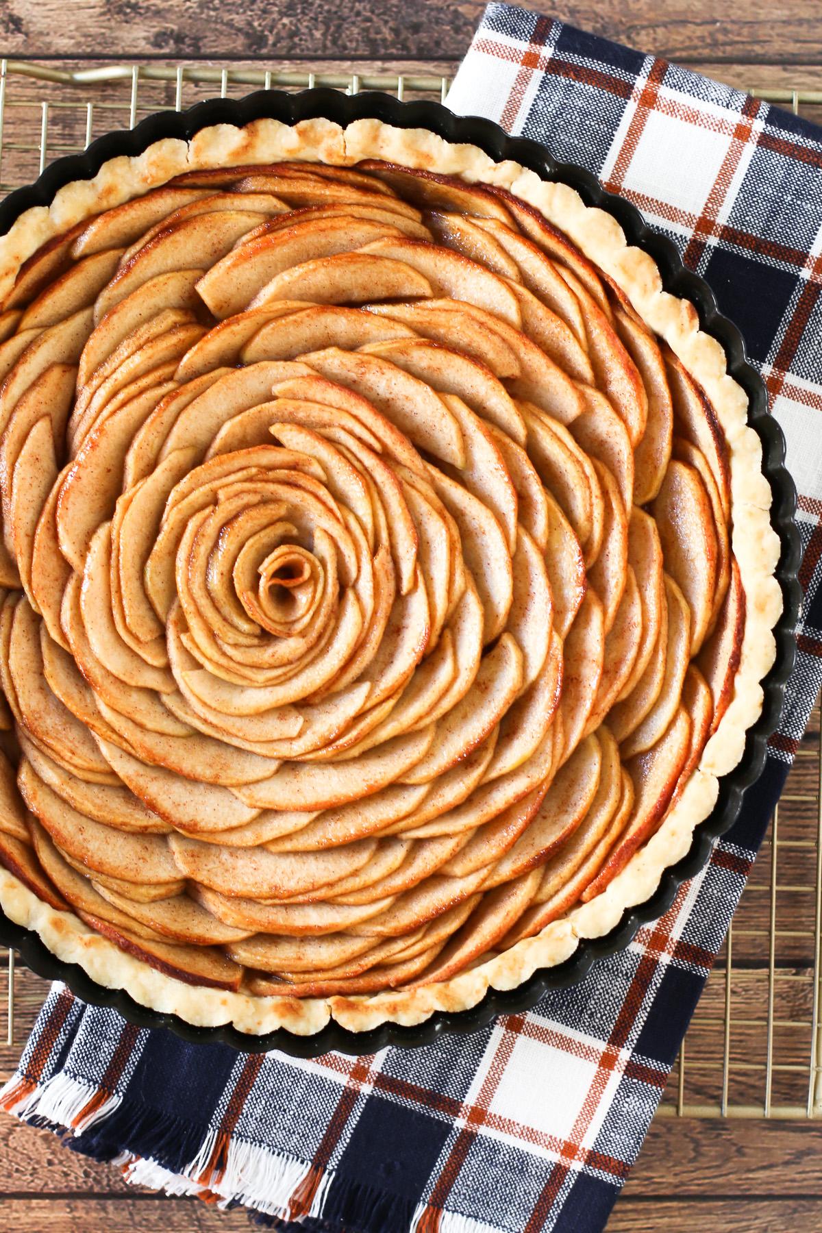 Gluten Free Vegan Apple Tart Sarah Bakes Gluten Free