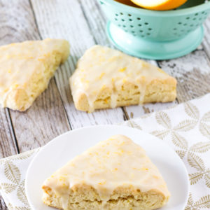 gluten free vegan sweet orange scones