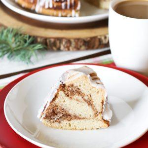 gluten free vegan cinnamon roll coffee cake