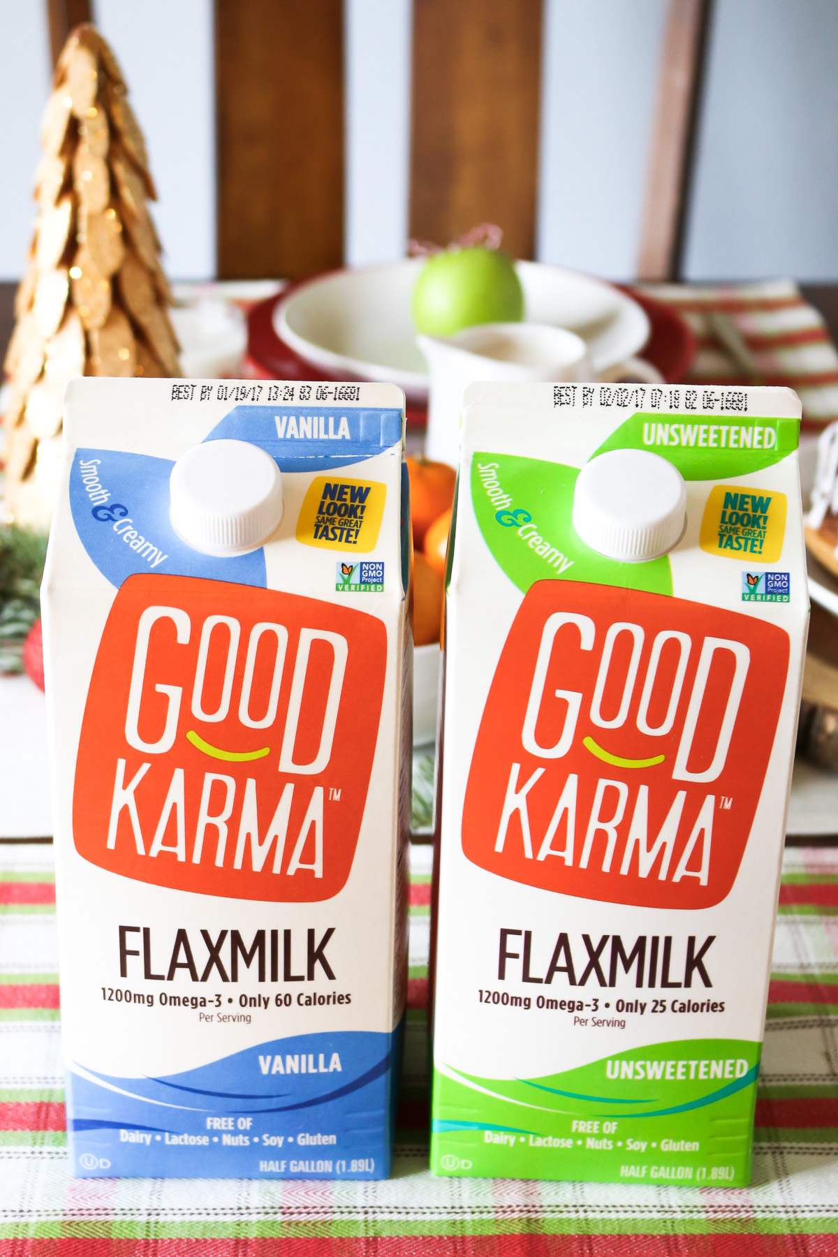 Good Karma Flaxmilk. Rich in Omega-3's and free of the top allergens.