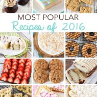 most popular recipes of 2016