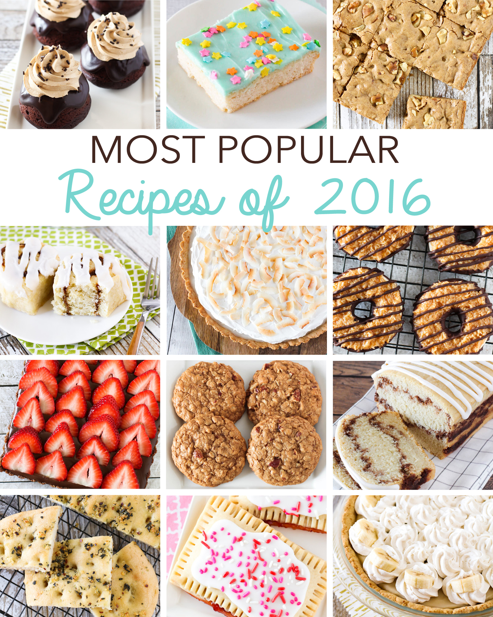 Sarah Bakes Gluten Free Most Popular Recipe of 2016. You're most favorite recipes of the year!