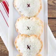gluten free vegan sweetheart cherry hand pies
