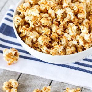 smokey maple popcorn