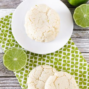 gluten free vegan lime sugar cookies