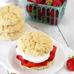 gluten free vegan classic strawberry shortcake