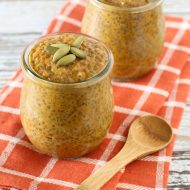 dairy free pumpkin pie chia pudding