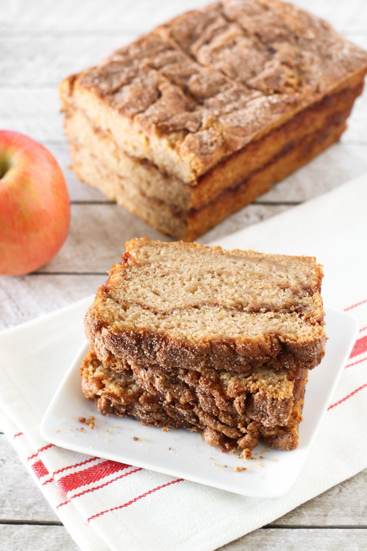 Gluten Free Vegan Apple Cinnamon Swirl Bread Sarah Bakes