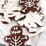 gluten free vegan halloween chocolate sugar cookies