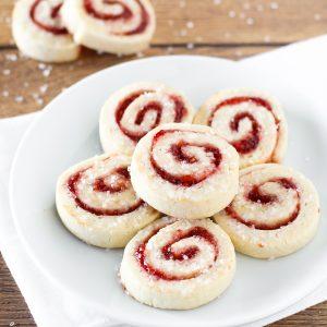 gluten free vegan raspberry pinwheel cookies