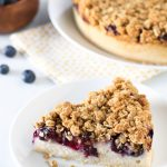 gluten free vegan blueberry coffee cake