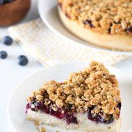 gluten free vegan blueberry coffee cake