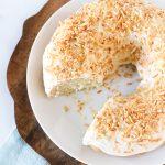 gluten free vegan coconut bundt cake