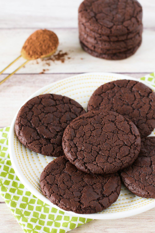 Gluten Free Vegan Brownie Cookies Sarah Bakes Gluten Free