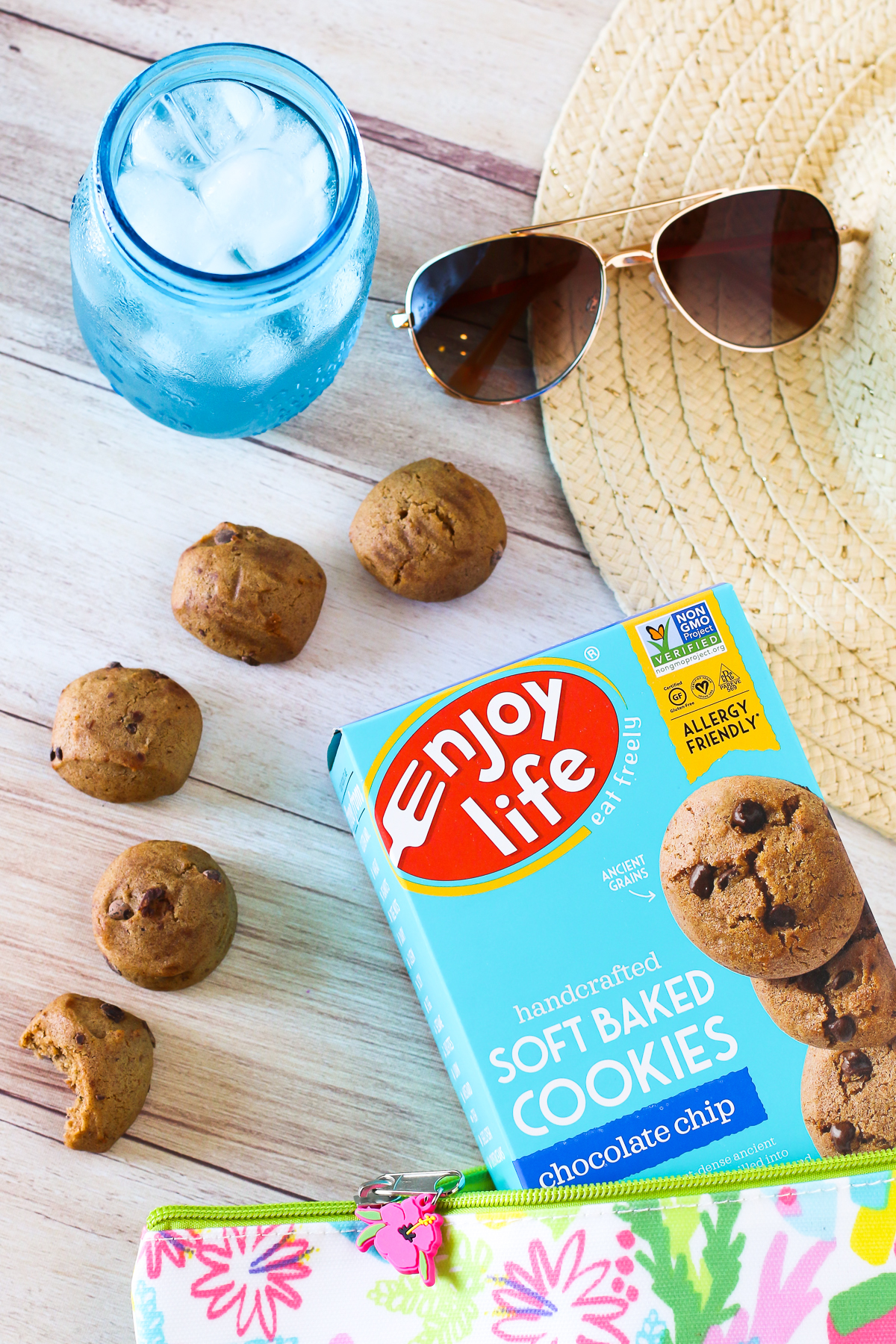 Spring into Summer with Enjoy Life. For a trip to the beach or an afternoon at the pool, be sure to pack some allergen free sweet treats!