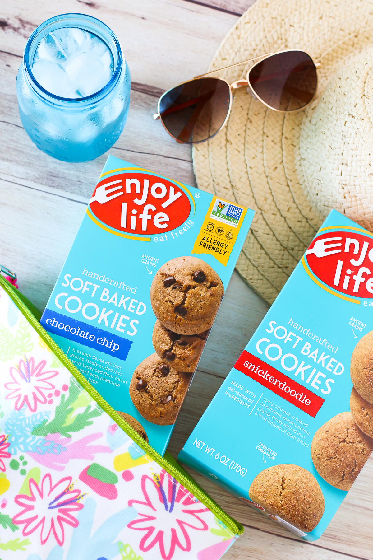 Spring into Summer with Enjoy Life. For a trip to the beach or an afternoon at the pool, be sure to pack some allergen free snacks!