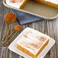 gluten free vegan pumpkin bars