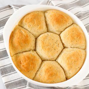 gluten free vegan pull-apart rolls
