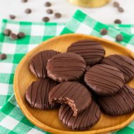 gluten free vegan thin mint cookies