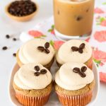 Gluten Free Vegan Vanilla Latte Cupcakes. All you coffee lovers, you are going to adore these fluffy vanilla latte cupcakes!
