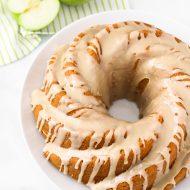 gluten free vegan caramel apple bundt cake